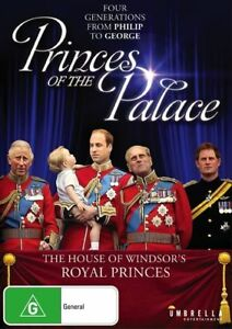 Princes-Of-The-Palace-DVD-4-Generations-Philip-to-George-NEW-SEALED-Royal-UK