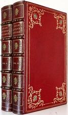 c.1900 THE CONFESSIONS OF JEAN JACQUES ROUSSEAU #449 of 1000 COPIES STUNNING