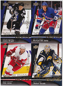09-10-Upper-Deck-Ville-Leino-100-UD-Exclusives-Young-Guns-Rookie-2009