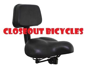 Touring Saddle Bicycle Seat D-1517 Black