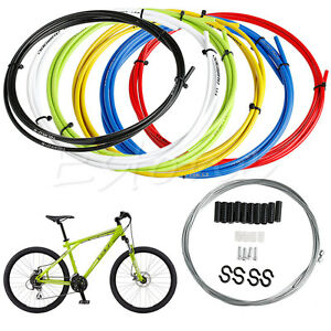 Front-amp-Rear-Inner-Outer-Wire-Brake-Gear-Cable-Set-Bike-Bicycle-Shifter-Cable
