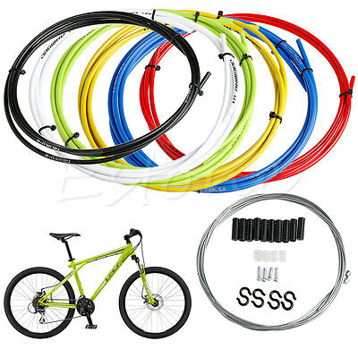 10x 1.75m Bicycle Front Rear Brake Gear Inner Cable Wires Bike Cycle Wire gfr