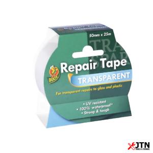 Shurtape 260508 Duck Tape Transparente Reparación Cinta 50mm X 25m