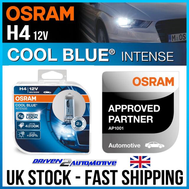 2x H4 OSRAM COOL BLUE INTENSE FOR CITROËN XSARA PICASSO N68 1.6 16V 09.05