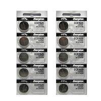 10 X Energizer Cr1620 Battery Ecr1620 Cr 1620 3v Lithium Batteries