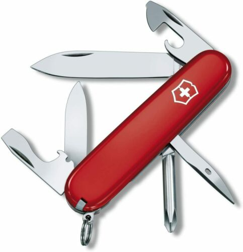 Details about  /Victorinox Tinker Swiss Army Knife-12 Tools-New In Package With Belt Case