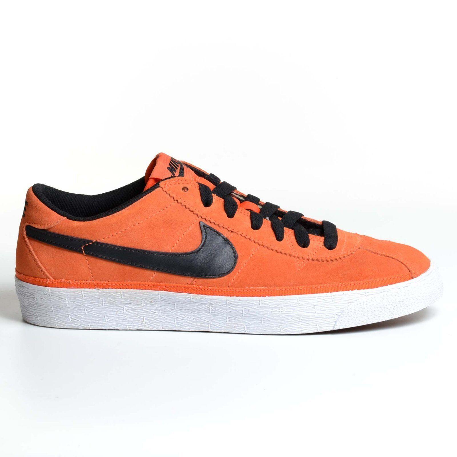 Nike Zoom Bruin Blaze Sb Orange Blaze Bruin 2010 Black Skateboarding Shoes 366665-800 6b8b0f
