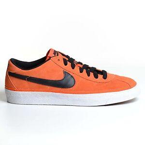 Nike Zoom Bruin SB Orange Blaze 2010 Black Skateboarding Shoes ... d5dda4b88ada