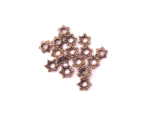 Solid Copper 9mm Star Beadcap Findings • Q20 • 29430