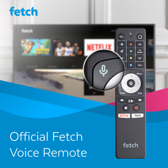 Fetch Voice Remote: Suits Mighty, Mini 4K, Mini & Gen 2