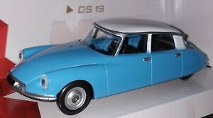 1-43-CITROEN-TIBURON-DS-19-COCHE-DE-METAL-A-ESCALA-COLECCION-SCALE-DIECAST