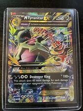 Mega M Tyranitar ex Ultra rarexy 43//98 Ancient Origins Pokemon Casi Nuevo