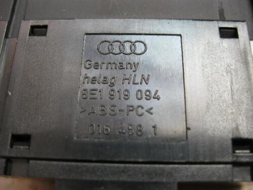 Interruptor REGULACIÓN DEL ALCANCE LUZ audi a4 b6 8e regulador 8e1919094 negro