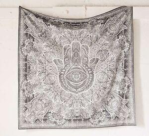 Fatima Hand Hamsa Tapestry Indian Mandala Wall Hanging
