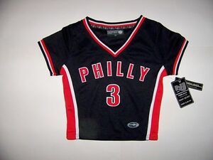 Philly-3-Kids-Girls-Jersey-Top-Size-XS