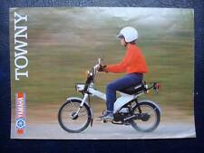 YAMAHA TOWNY 49cc - Motorcycle Sales Brochure - c1982 - #3MC-0107601-82E