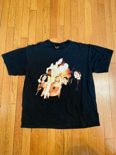 vintage t shirt hole large nirvana