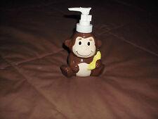 Bathroom Brown/Yellow Monkey Soap Or Lotion Pump Dispenser Bath Home Decor