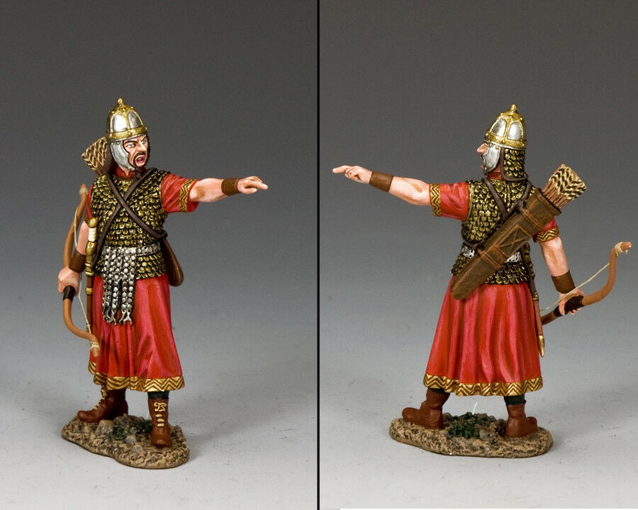 KING AND COUNTRY Romans - Roman Roman Archer Officer (Shouting Orders) ROM026