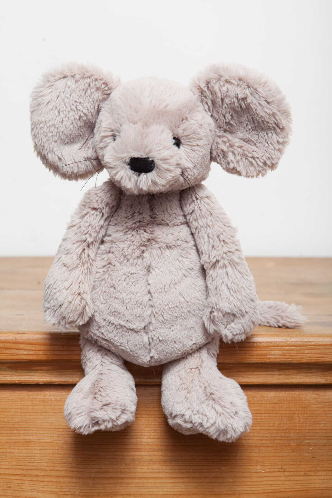 Jellycat Medium Bashful Beige Mouse - no whiskers
