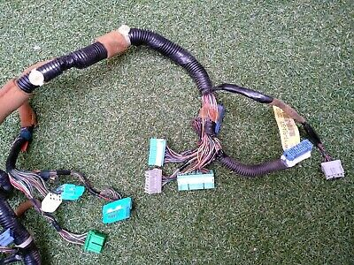 2000 honda civic wiring harness 99 00 honda civic dash wire wiring harness loom plug oem automatic  99 00 honda civic dash wire wiring