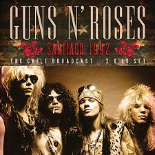 GUNS N ROSES New Sealed 2017 UNRELEASED LIVE 1992 CHILE CONCERT 2 CD SET