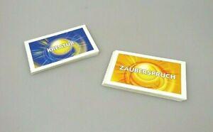 MONOPOLY-Duel-Masters-Ersatzteile-16-Zauberspruchkarten-amp-16-Kreaturenkarten