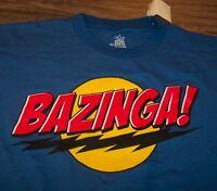 The Big Bang Theory Bazinga T-shirt Large W/ Tag