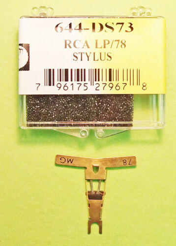 NEW IN BOX NEEDLE FOR RCA 110020 RCA 110022 Astatic 487 EV 54  N564-SD 644-DS73