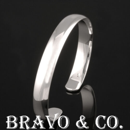 5SB025 Hallmark 925 Solid Sterling Silver Wristband Cuff Bangle Men Bracelet