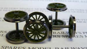 Hornby X6659 Class P2 Cock O The North Tender Wheel Set