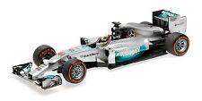 2014 Mercedes AMG Petronas Lewis Hamilton Minichamps Diecast Model 110140144