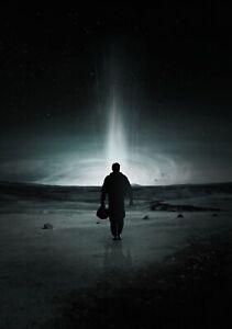 INTERSTELLAR-Movie-PHOTO-Print-POSTER-Textless-Film-Art-Christopher-Nolan-008