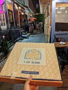 Bitcoin Pizza Box (1 of 10,000) Collectors Item Empty Box #EatBitcoinPizza