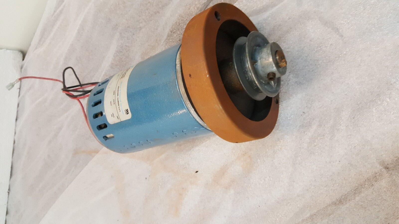 Used Treadmill Motor, Wind Turbine, Perm Mag Pacific Scientific SR3616-4707