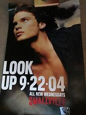 "SMALLVILLE WB ""Look Up"" POSTER Tom Welling CW   Rare"
