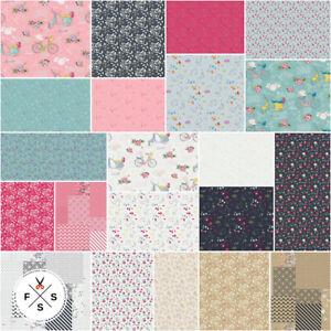 Riley-Blake-Someday-5-034-Fabric-Charm-Pack-Quilt-Squares-5-7910-42-Mini-Kim-SQ29