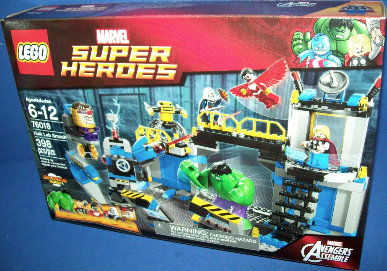 Lego 76018 Hulk Labor Smash Avengers Assemble Im Ruhestand Marvel Super Heroes