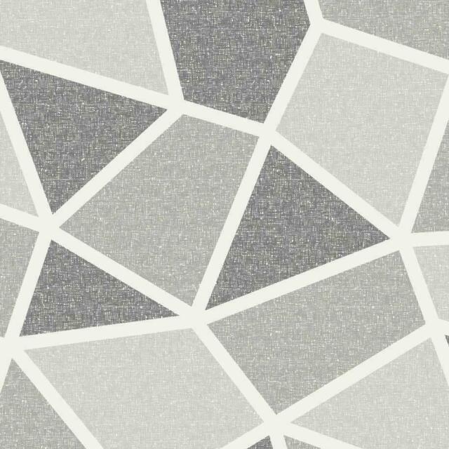 Italian Vinyl Textured ** Crown Windward Grey Wallpaper M1135