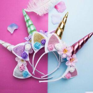 Halloween-Children-Selling-Cute-Funny-Unicorn-Headband-MT