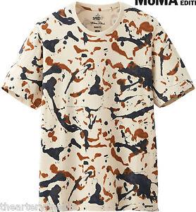 Jackson pollock x uniqlo 39 splatter 39 moma sprz ny abstract for Uniqlo moma t shirt