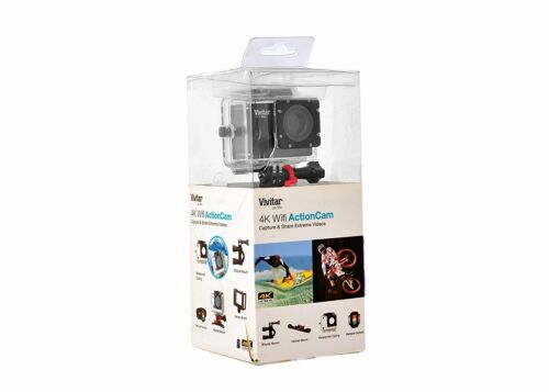 Vivitar DVR914  4K 16.1MP Action Cam Wide Angle Cam Brand New