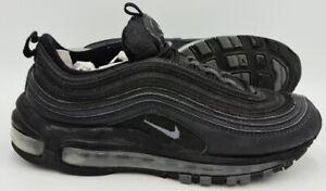 Nike-AIR-MAX-97-Scarpe-Da-Ginnastica-in-Pelle-921733-001-TRIPLE-NERO-UK5-US7-5-EU38-5
