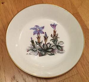 ROYAL-WORCESTER-Dish-Blue-gentian-flower-design