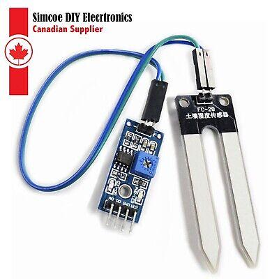 Details about  /Soil Humidity Hygrometer Moisture Detection Sensor Module for Arduino Probe ..
