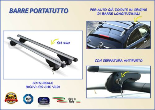 Barre Portatutto per Chevrolet Cruze Station Wagon dal 2011 in poi porta pacchi