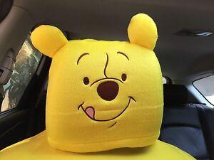 Winnie the Pooh Disney Car Accessory : 1 piece Head Rest / Head Seat Cover #10