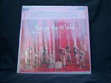 """RCA/Camden CAS-448(e) The Robert Shaw Chorale - Joy To The World 1958 12"""" 33 RPM"""