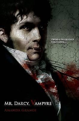 """AS NEW"" Amanda Grange, Mr Darcy, Vampyre Book"
