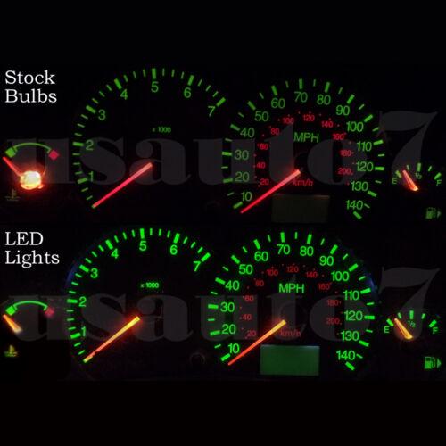 NEW Dash Cluster Gauge SMD LED LIGHT BULB KIT Fits 00-04 Ford Focus Speedometers